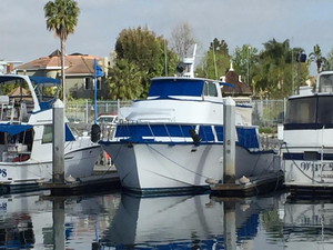 Used Seaway Custom Motor Yacht Pilothouse Boat For Sale