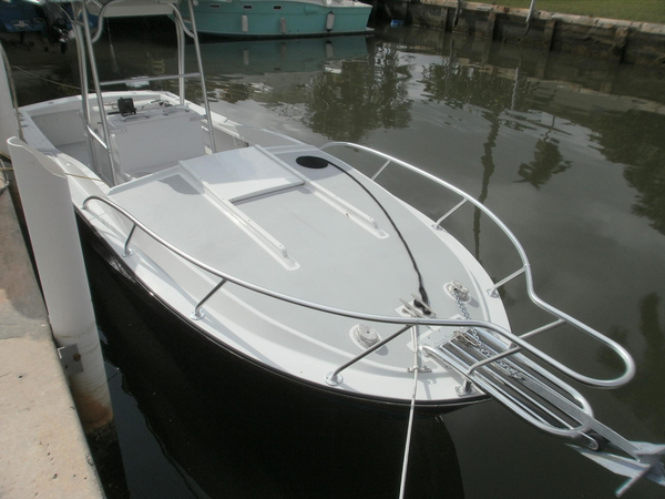 Used Blackfin 25 Fisherman Freshwater Fishing Boat For Sale
