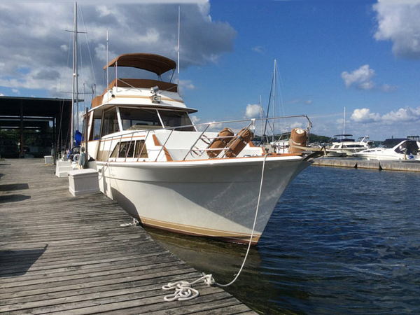 Used Egg Harbor Flush Deck Motor Yacht Motor Yacht For Sale