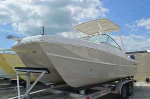 New World Cat 230DC Dual Console Power Catamaran Boat For Sale