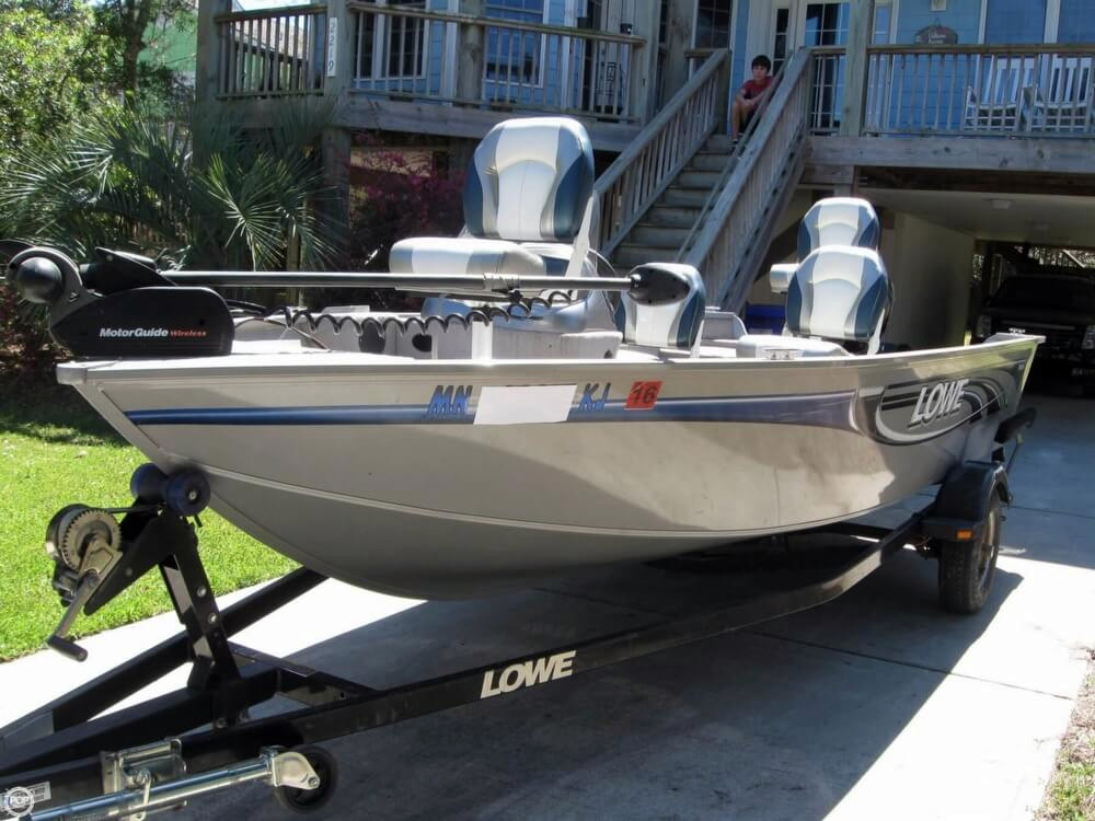 2008 used lowe fm165 aluminum fishing boat for sale