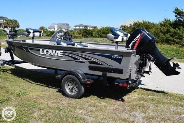 Used Lowe FM165 Aluminum Fishing Boat For Sale