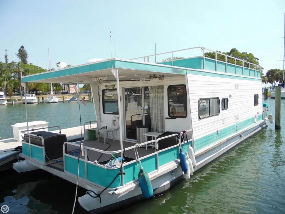 1999 used aqua chalet 42 house boat for sale 36 000 sarasota fl. Black Bedroom Furniture Sets. Home Design Ideas
