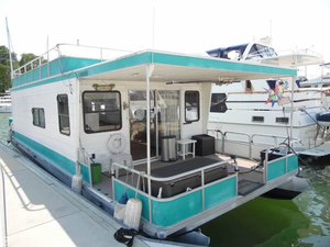 Used Aqua Chalet 42 House Boat For Sale