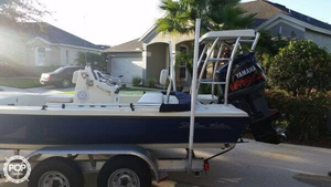 Used Shallow Water 201 Pro Angler Tournament Series Flats Fishing Boat For Sale