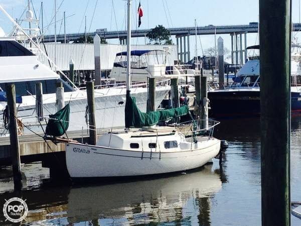 Used Pacific Seacraft Flicka 20 Racer and Cruiser Sailboat For Sale