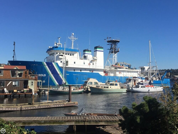 Used Tacoma Boatbuilding Co., Inc. 224' Ocean Survey Vessel, Stalwart Class T-AGOS-12 Utility Boat For Sale