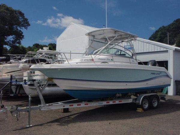 Used Pro Line 24 WA Cuddy Cabin Boat For Sale