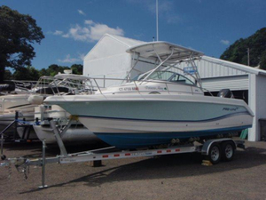 Used Pro Line 24 W/A Cuddy Cabin Boat For Sale