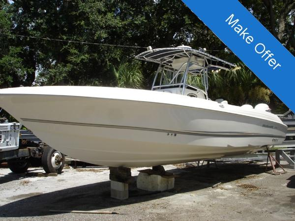 Used Scarab 32 CC Center Console Fishing Boat For Sale