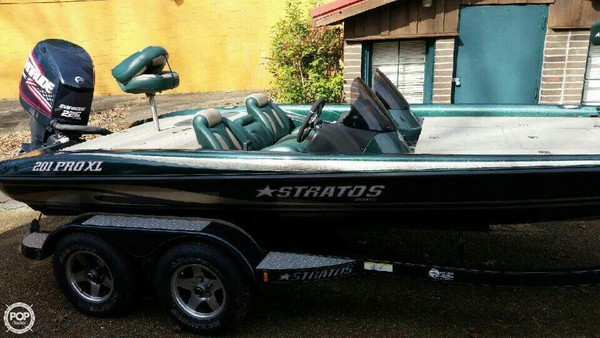 Used Stratos 201 Pro XL Bass Boat For Sale