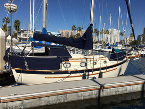Used Pacific Seacraft DANA 24 Cutter Sailboat For Sale