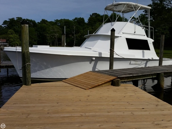 Used Hatteras 40 Convertible Sports Fishing Boat For Sale