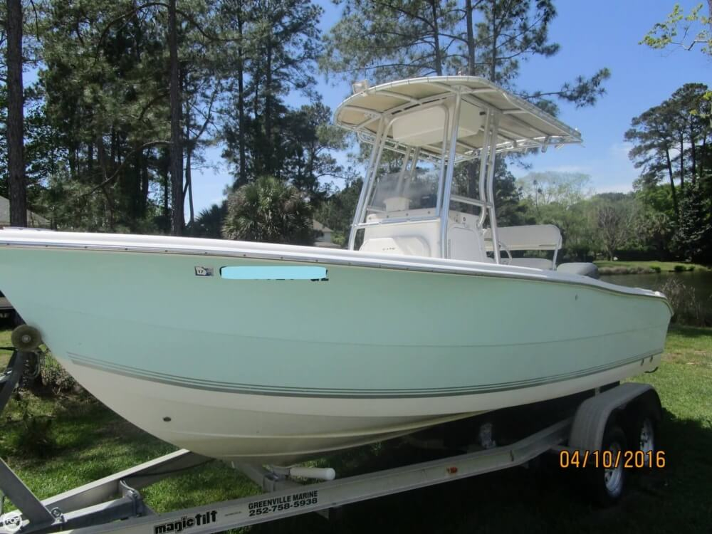 2004 used sea pro 206 cc center console fishing boat for for Deep sea fishing savannah ga