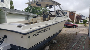Used Performer Yachts 24 Walkaround Fishing Boat For Sale