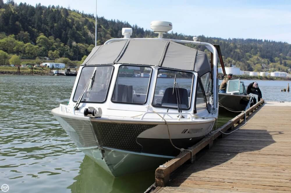 2006 used north river seahawk 25 aluminum fishing boat for
