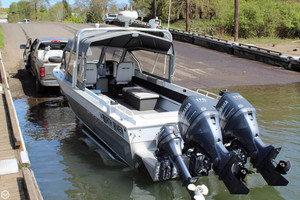 Used North River Seahawk 25 Aluminum Fishing Boat For Sale