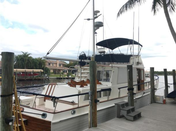 Used Grand Banks Double Cabin Trawler Boat For Sale