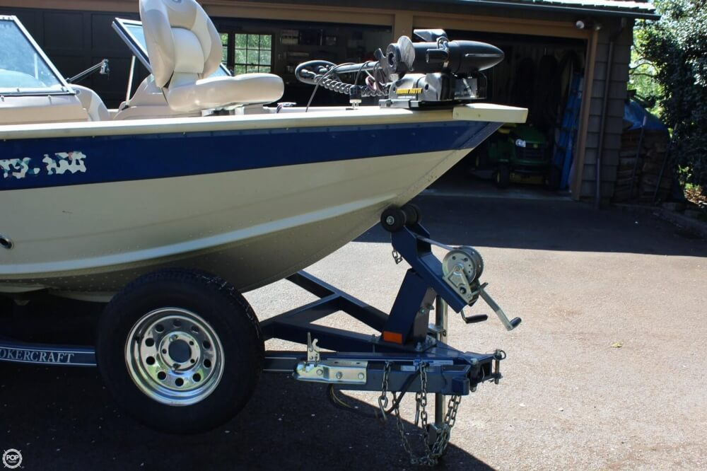 2008 used smoker craft pro angler 172 aluminum fishing for Aluminum craft boats for sale