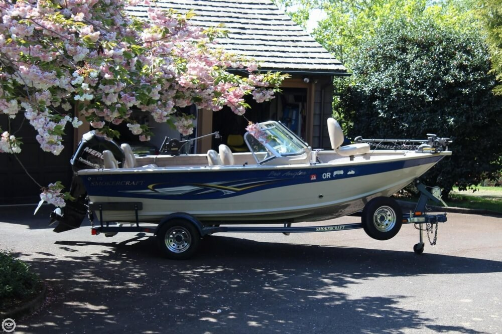 2008 used smoker craft pro angler 172 aluminum fishing for Angler fish for sale