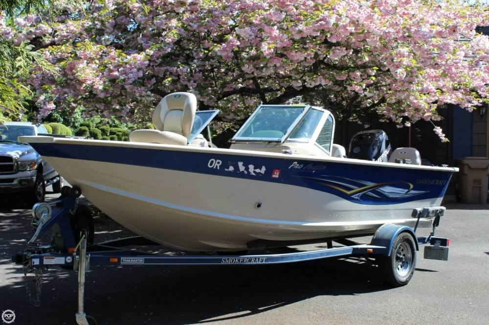 2008 used smoker craft pro angler 172 aluminum fishing On used smoker craft boats for sale