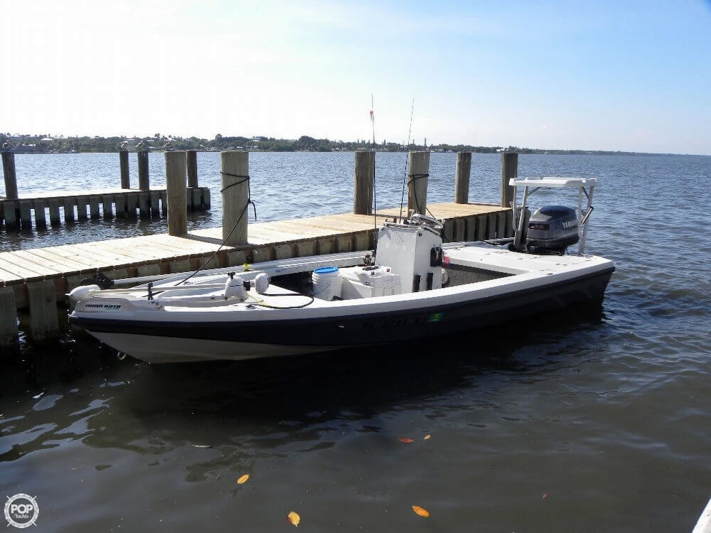 1992 Used Dolphin 18 Backcountry Flats Fishing Boat For