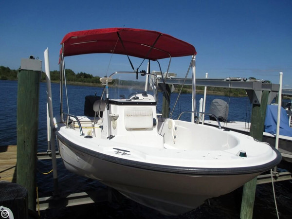 Used Boston Whaler Dauntless 180 Center Console Fishing Boat For Sale