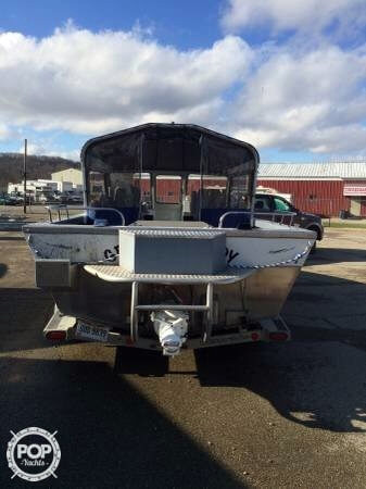 1999 used weldcraft 22 aluminum fishing boat for sale for Fishing boats for sale in ohio