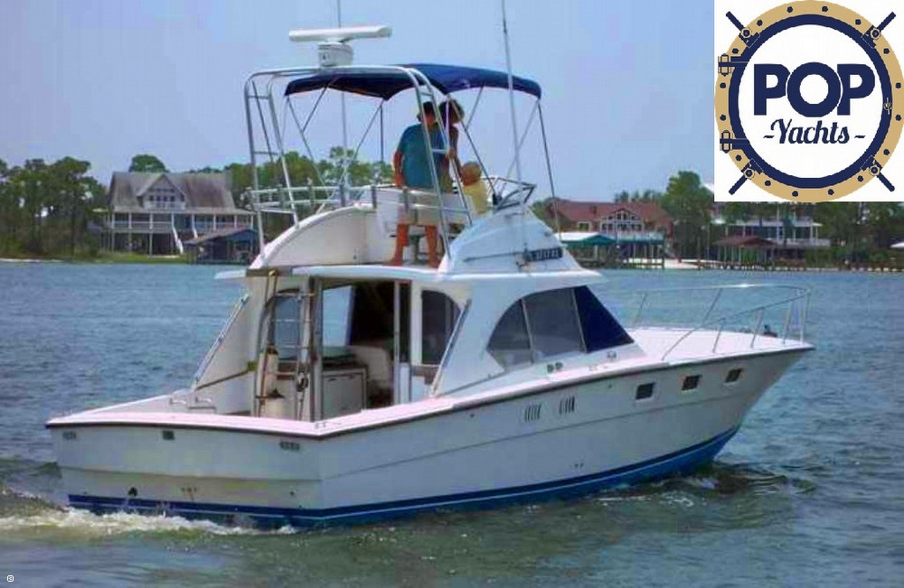 1985 used magnum marine 380 fb sports fishing boat for for Used fishing boats for sale in florida
