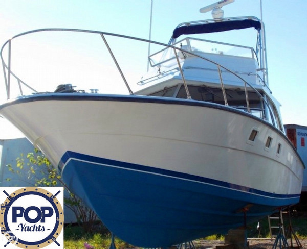 Used Magnum Marine 380 Flybridge SF Sports Fishing Boat For Sale