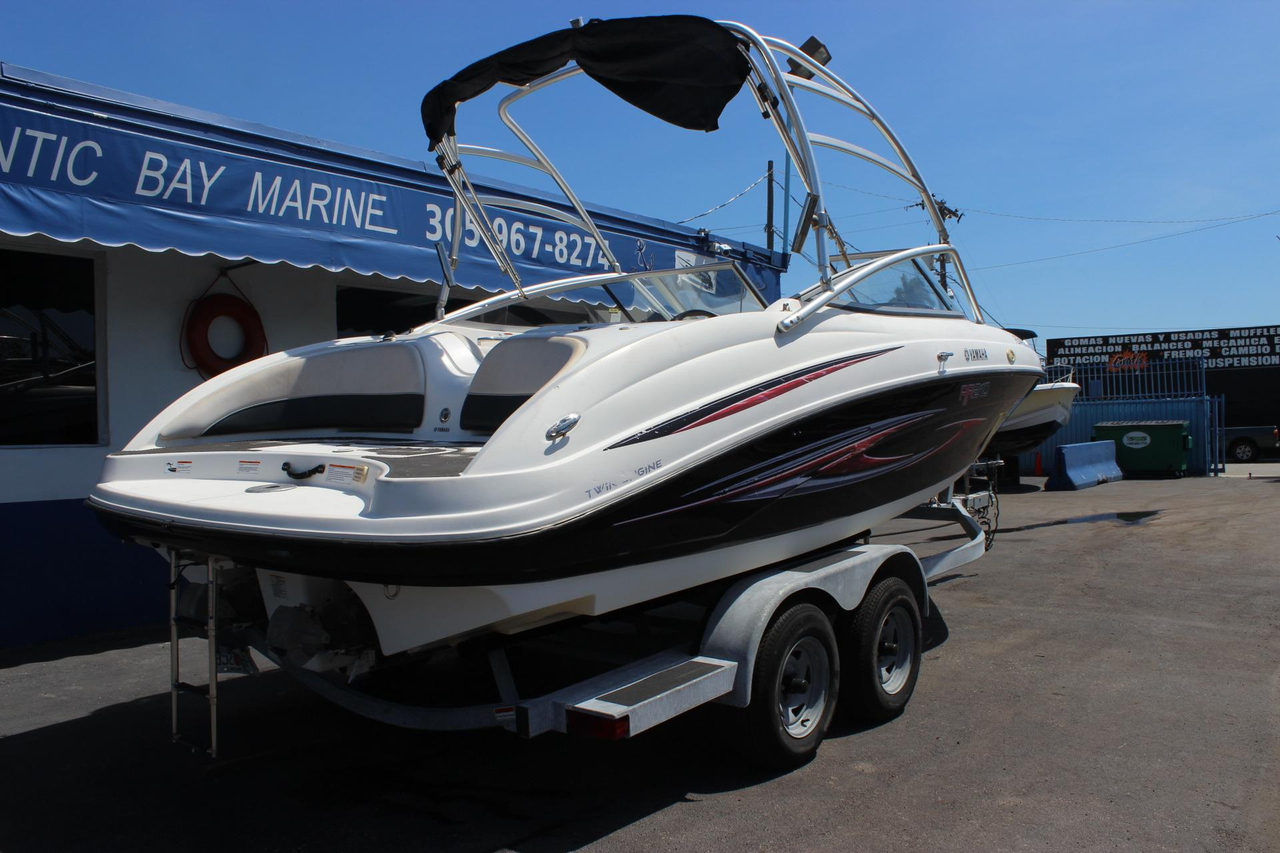 2007 used yamaha ar210 jet boat for sale 17 900 miami