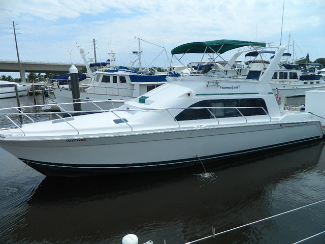 1998 used mainship sedan bridge motor yacht for sale for Used motor yacht for sale