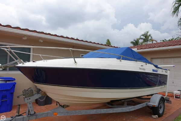 Used Bayliner 192 Discovery Cuddy Runabout Boat For Sale