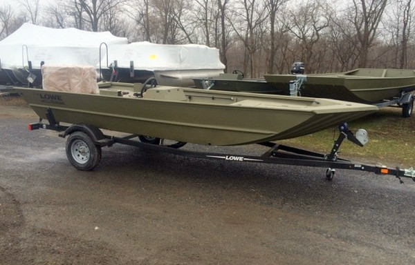 New Lowe Roughneck 1756SC Jon Boat For Sale