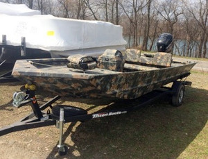 New Triton Boats 1862 SC Sports Fishing Boat For Sale