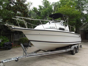 Used Stamas 240 Family Fish Walkaround Fishing Boat For Sale
