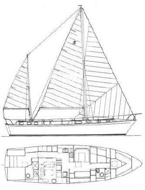 Used Gulfstar 53 Motorsailer Sailboat For Sale
