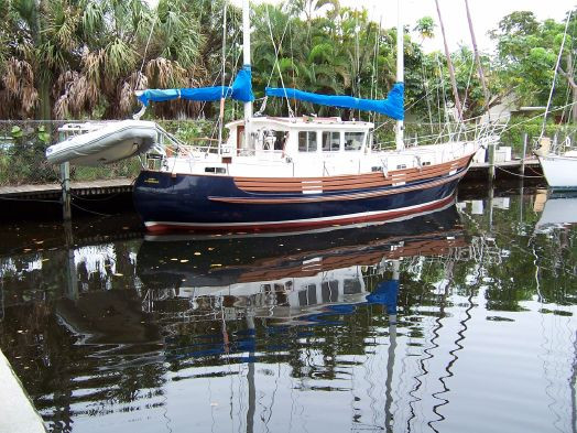 Used Fisher 46 Motorsailer Cutter Motorsailer Sailboat For Sale