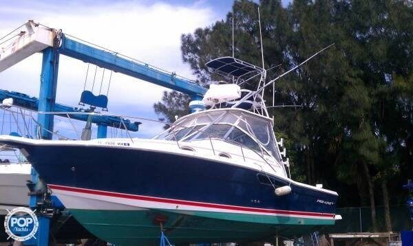 Used Pro-Line 33 Express Walkaround Fishing Boat For Sale