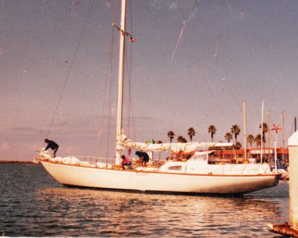Used Columbia Yacht Racer and Cruiser Sailboat For Sale