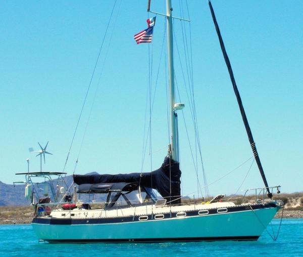 Used Morgan Classic 41 Center Cockpit Sailboat For Sale