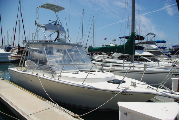 Used Tiarapursuit Open Express Cruiser Boat For Sale