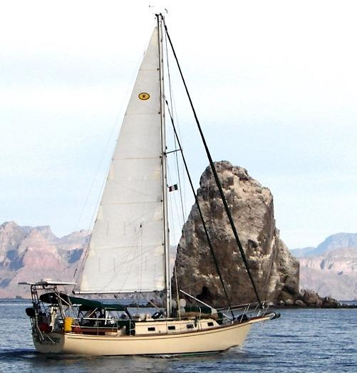 Used Island Packet Cutter Sailboat For Sale