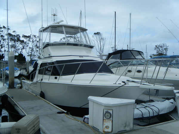 Used Cabo 35 Flybridge Convertible Fishing Boat For Sale