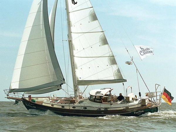 New Hans Christian Yachts 48 Traditional Cutterketch Center Cockpit Sailboat For Sale