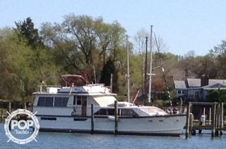 Used Pacemaker 57 Motoryacht Trawler Boat For Sale