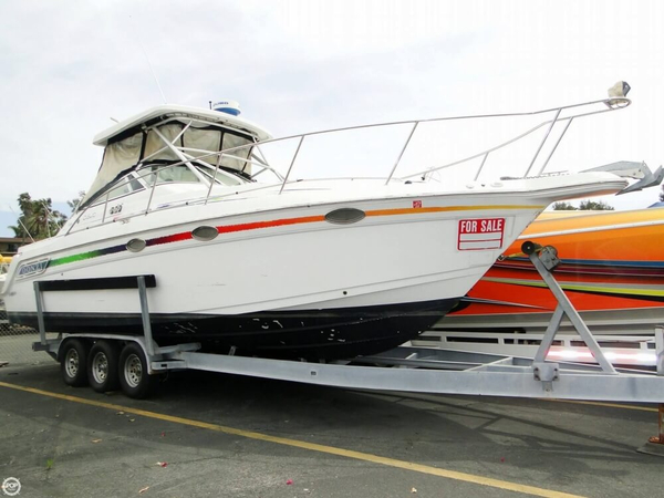 Used Donzi 3250 LXF Express Walkaround Fishing Boat For Sale