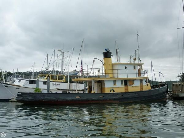 Used San Diego Marine 85 Tug Boat For Sale