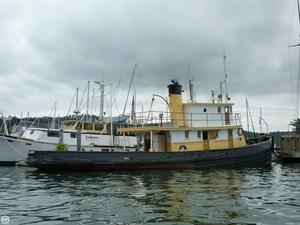 Used San Diego Marine 85 Tug Boat For Sale