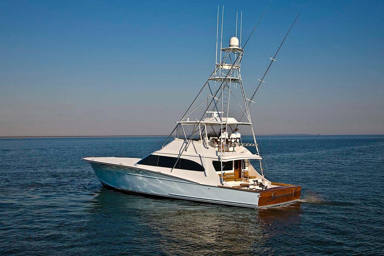 2008 used spencer yachts custom carolina sportfish for Custom fishing boats